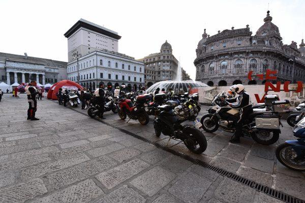 2018 Genova Palermo in moto Tappa 1